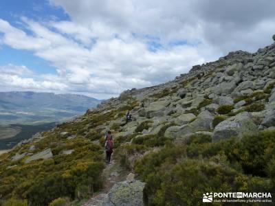 Cuerda Larga - Miraflores de la Sierra;actividades de senderismo turismo de senderismo equipamiento